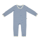 Sapphire and Natural Stripe Baby Grow