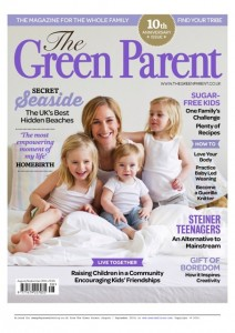 FRONT COVER THE GREEN PARENT AUGUST SEPTEMBER