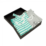 Gift Set 03 – Blanket + Hat + Baby Grow + Body T shirt + Applique T shirt + Legging