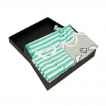 Gift Set 06 – Blanket + Hat + Baby Grow + Applique T shirt