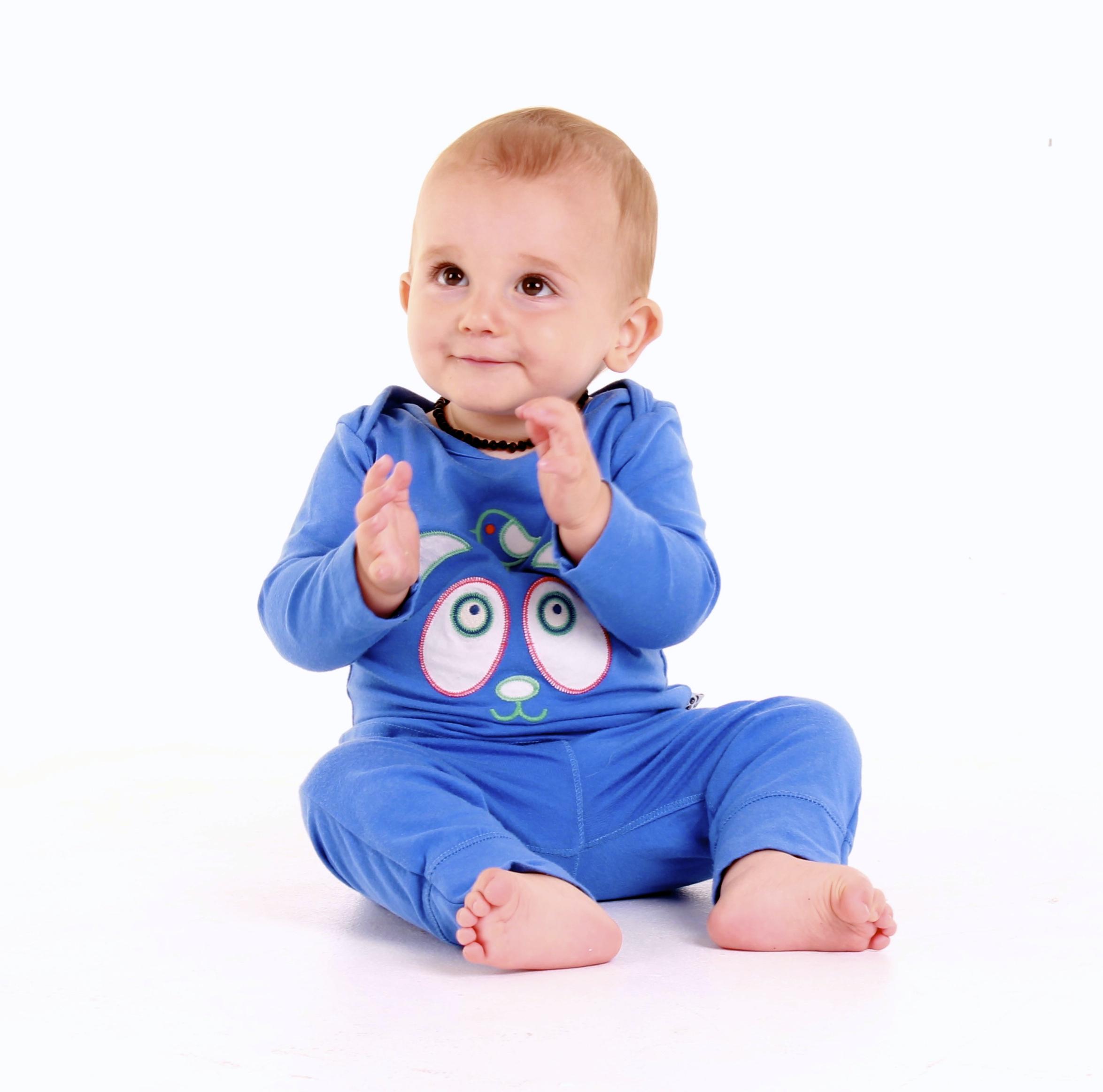 Sapphire Applique Logo Pyjamas
