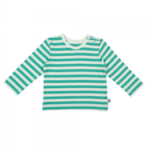Jade Striped Baby T Shirt
