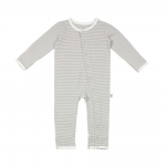 Fine Striped Baby Grow