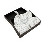 Gift Set 50 – Hat + Baby Grow + Bandana Bib