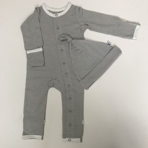 Striped Hat and Baby Grow