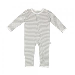 Fine Striped Baby Grow